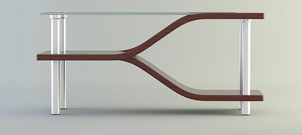 Mesa de centro vista frontal