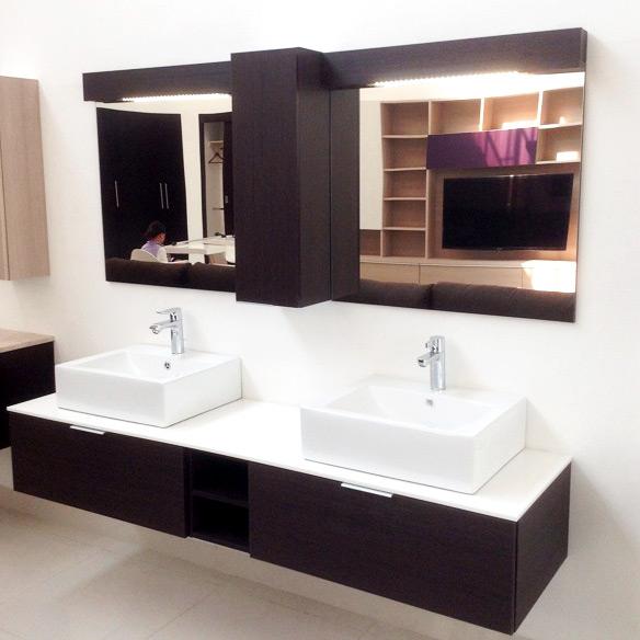 Gabinete para ba o contempo living habitat mexico for Gabinetes de bano en madera